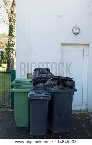 Large Green Wheelie Bins For Rubbish, Recycling And Garden Waste