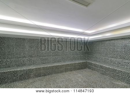 Interior of turkish bath hammam