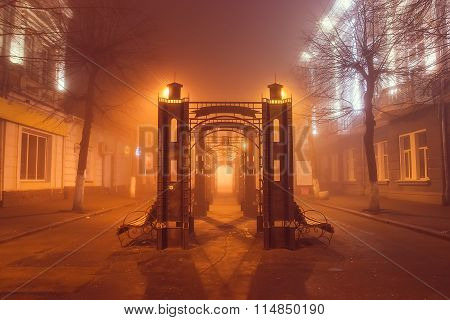 Hell Gates of city