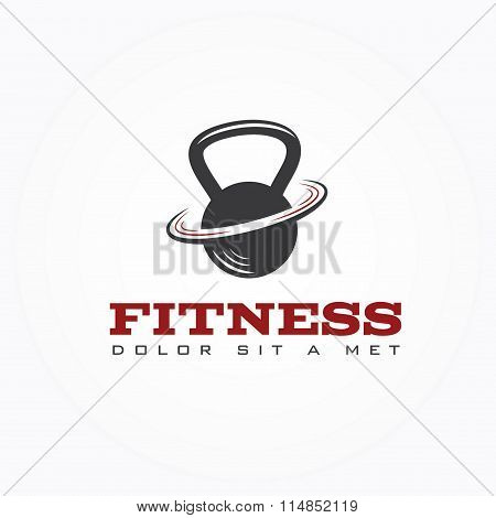 Kettlebell Vector Design Template