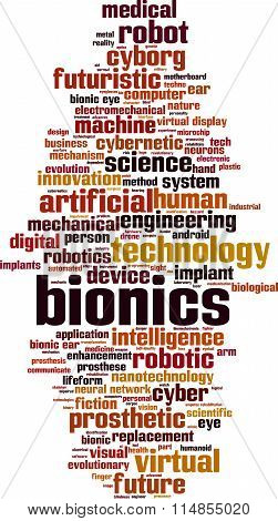 Bionics Word Cloud