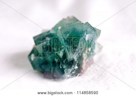 Fluorite Mineral Sample