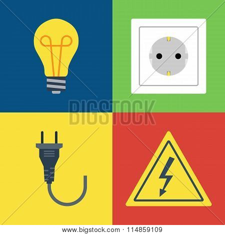 Lightbulb, Socket, Plug, Electricity