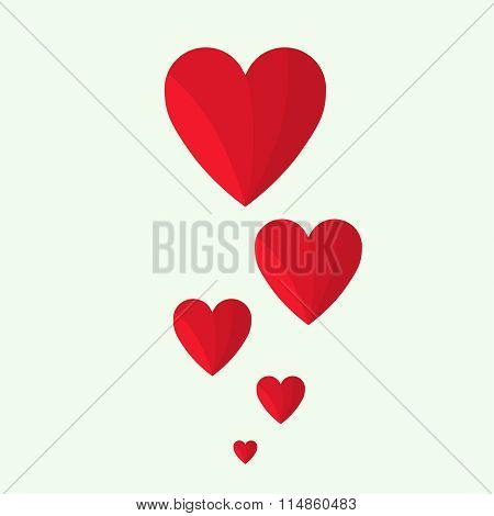 Abstract background heart