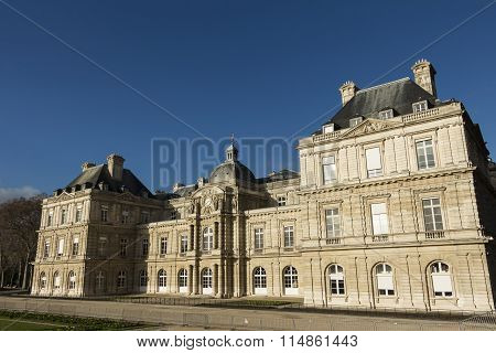 The Luxembourg Palace, Paris, France.
