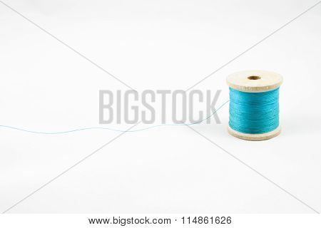 Blue Thread Spool