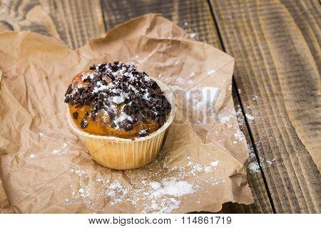 Yummy Homemade Dessert Muffin