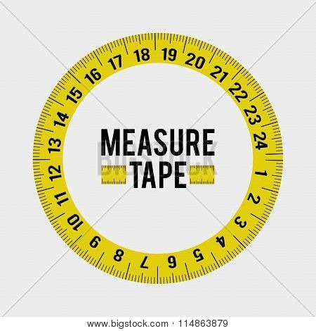 Measure tape and dieting