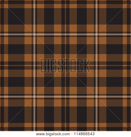 Seamless Tartan - Brown