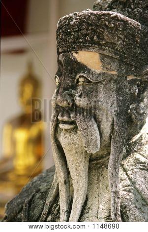 Chinese Statue – Wat Po, Bangkok, Thailand