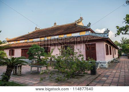 Temple Building in Thien Mu