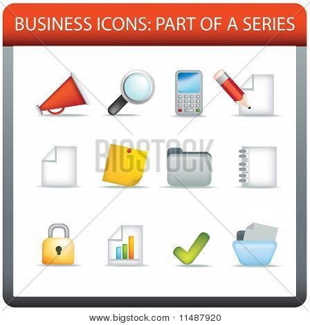 Business Icon Series 1