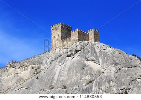 Fortress Wall And Towers