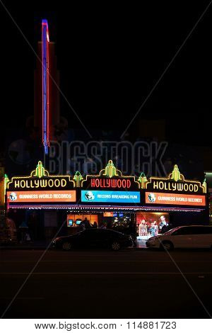 Guinness World Records Hollywood Boulevard