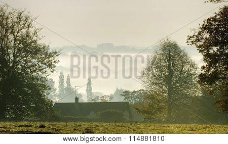 Morning Mist Over Nailsworth