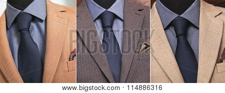 Collage Business Suit