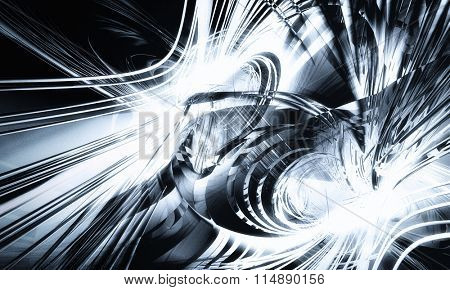 3d technology abstract background
