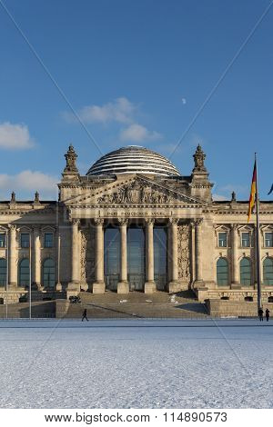 The Reichstag (german bundestag) Building In Berlin, Germany