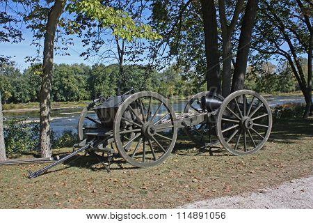 Vintage Cannon Wagon