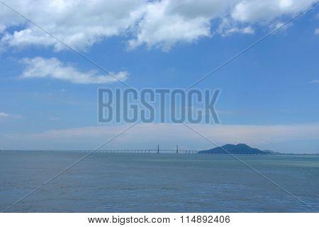 The Penang Bridge Longest Bridge In South East Asia