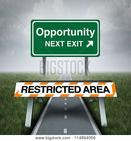 Restricted Opportunity