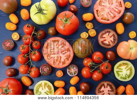 Medley Of Tomato Varieties
