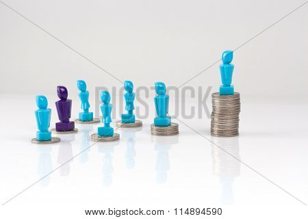 Leadership And Corporate Structure Concept