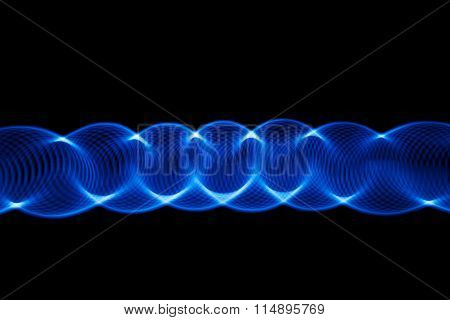 Sound waves in the dark