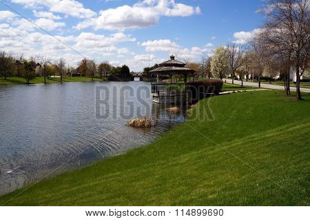 Gazebo and Bridge