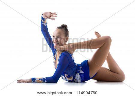 Teen Acrobat Performer Girl
