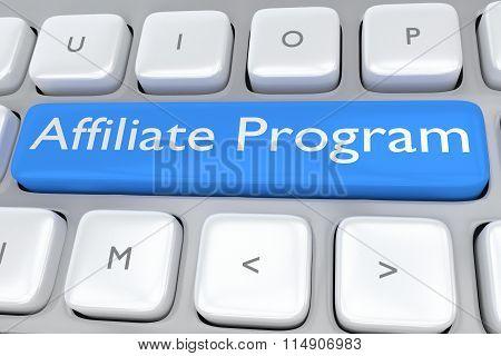 Affiliate Program Concept