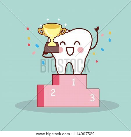 Cartoon Tooth Winner