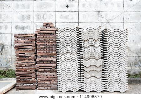 Roof Tile And Parquet Tile
