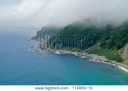 Fog Above Sea