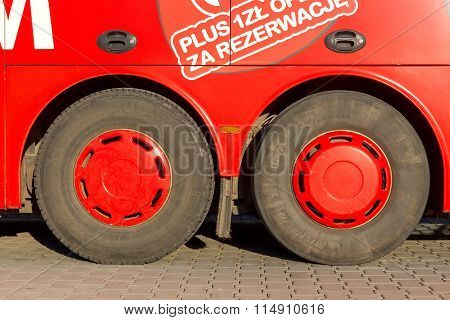 Warsaw. Bus Poland.