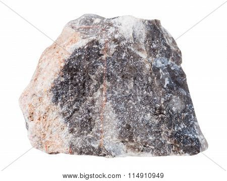 Specimen Of Limestone Mineral Stone Isolated