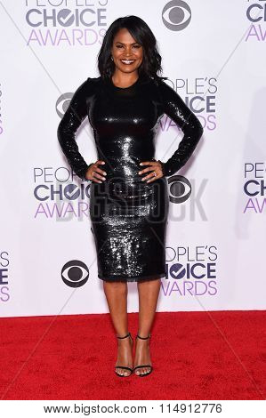 LOS ANGELES - JAN 06:  Nia Long arrives to the People's Choice Awards 2016  on January 06, 2016 in Hollywood, CA.