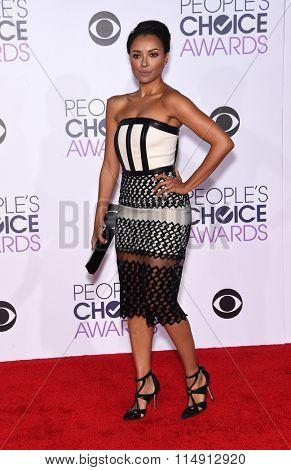 LOS ANGELES - JAN 06:  Kat Graham arrives to the People's Choice Awards 2016  on January 06, 2016 in Hollywood, CA.