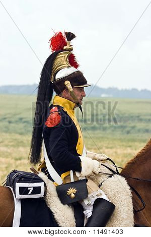 Re-enactment-Schlacht von Waterloo, Belgien 2009