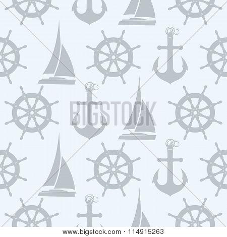 sailing vector pattern