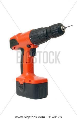 Drilling Machine With Drill