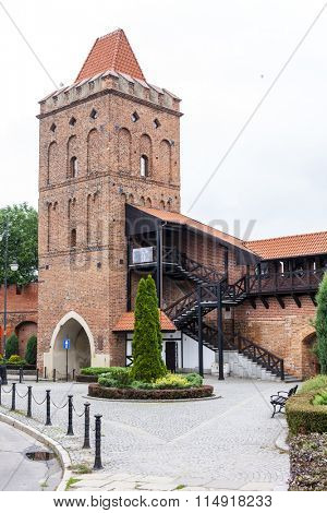Wroclaw Gate, Olesnica, Lower Silesia, Poland