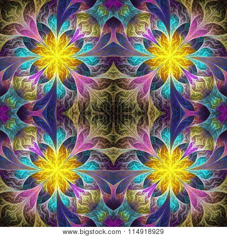 Beautiful Pattern In Fractal Design.You Can Use It For Invitations, Notebook Covers, Phone Case