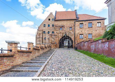 medieval granary, Grudziadz, Kuyavia-Pomerania, Poland