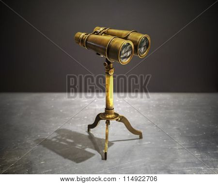 Prismatic binocular vintage style