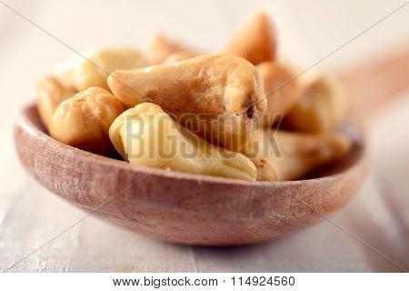Cashew Nuts In Ladle