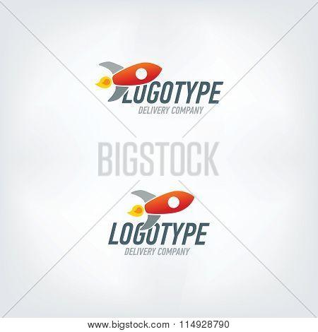 Delivery company logo