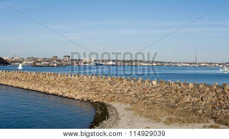 Harbor New Bedford Massachusetts