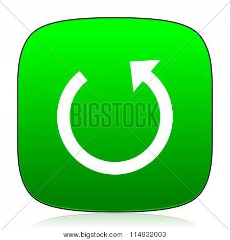 rotate green icon