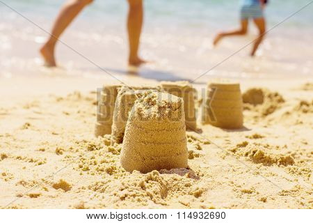 Summer Creative Fun On Beach